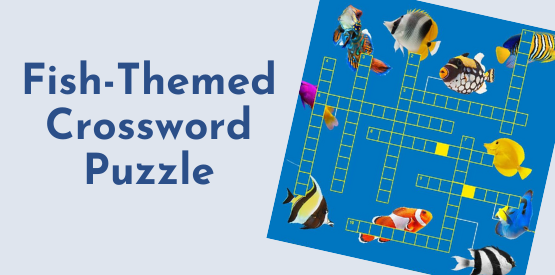 Fish Learning Fridays | Fish Crossword Puzzle