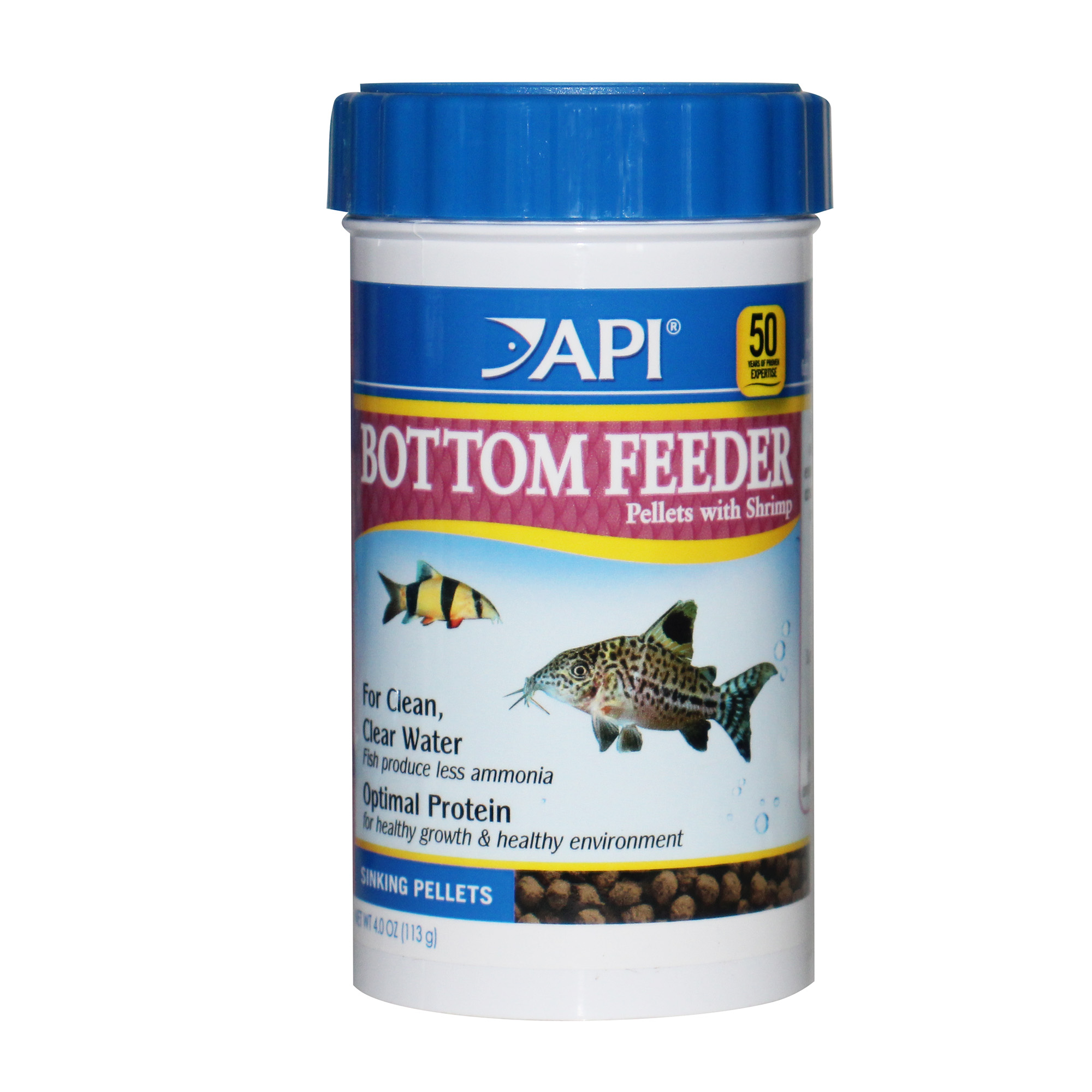 BOTTOM FEEDER PELLETS WITH SHRIMP