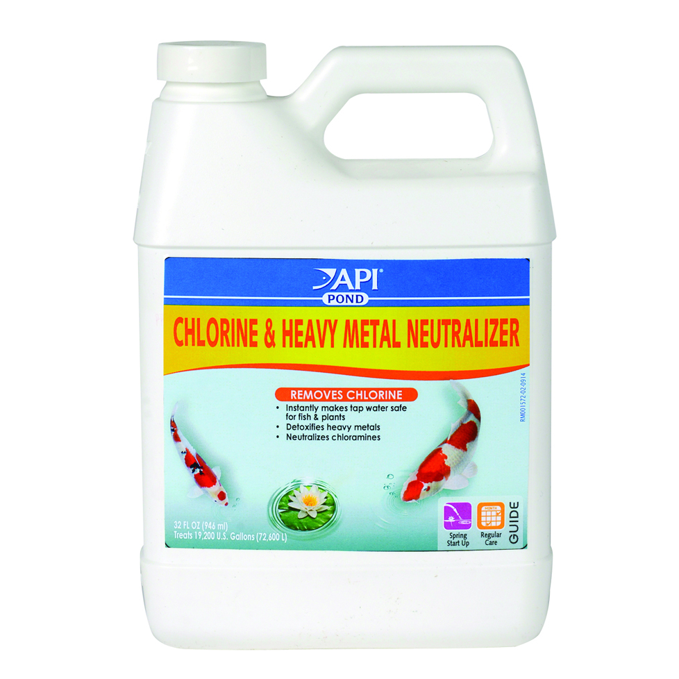 POND CHLORINE & HEAVY METAL NEUTRALIZER
